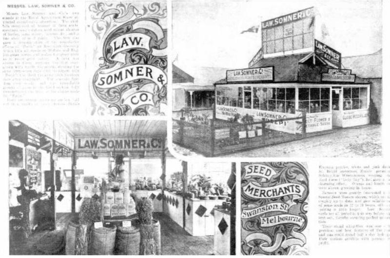 Law, Somner Pty. Ltd. seed merchants and nurserymen : [catalogue]
