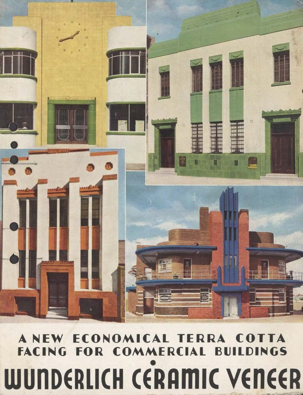 Wunderlich ceramic veneer : a new economical terra cotta facing for commercial buildings