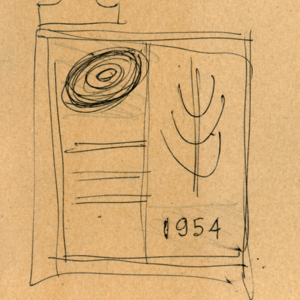 Burwood Teachers' College emblem sketches