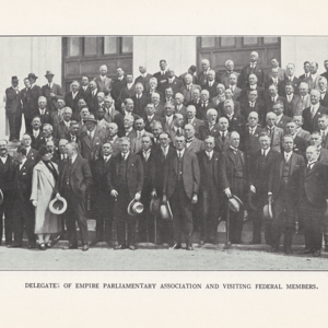 Report of the proceedings on the occasion of the presentation, at Canberra, of the Speaker's Chair, 11th October, 1926