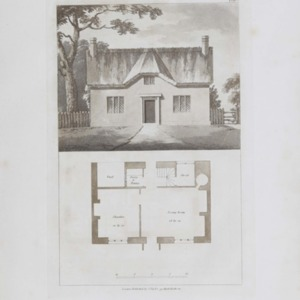 Sketches for country houses, villas and rural dwellings, calculated for persons of moderate income and for comfortable retirement. Also, some designs for cottages, which may be constructed of the simplest materials ; with plans and general estimates. /