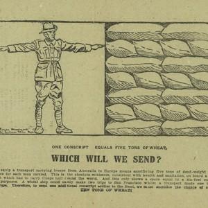 Conscript or wheat? : vote no