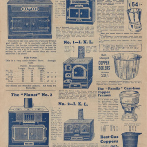 Catalogue from N.L. Rigg : hardware & timber merchant, importer-manufacturer and hardwood mill owner March 1933