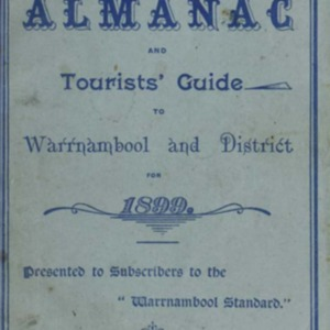 The Warrnambool Standard almanac and tourists' guide to Warrnambool & district for