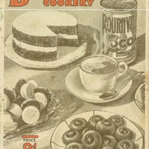 Bournville chocolate cookery : tested recipes made with Bournville cocoa