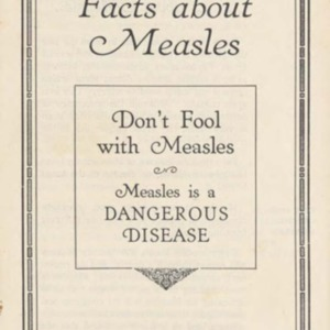 Facts about measles