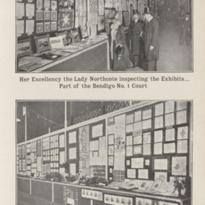 Record and review of the State Schools Exhibition : held at the Exhibition Building, Melbourne, September 5th to 22nd, 1906