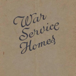 An outline of the provisions of the War Service Homes Act 1918-1947 : for the information of intending applicants
