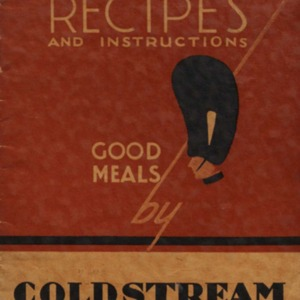 Recipes and instructions : good meals