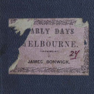 bonwick1857earlydays.pdf