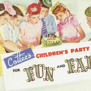 Cottee's children's party book : for fun and fare