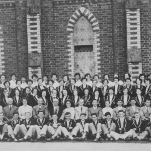 Burwood Teachers' College staff and students