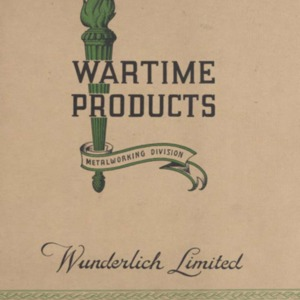 Wartime products metalworking division