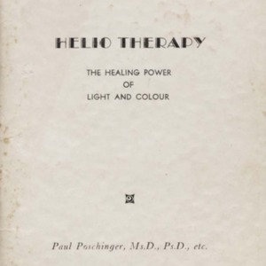 Helio therapy : the healing power of light and colour