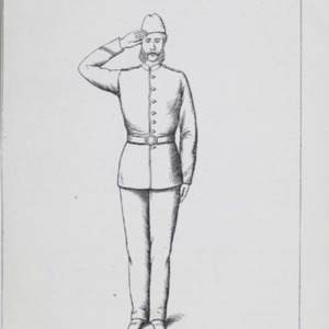 A Manual of squad, company, and running drill : compiled from the field exercise and Queen's regulations and orders for the Army