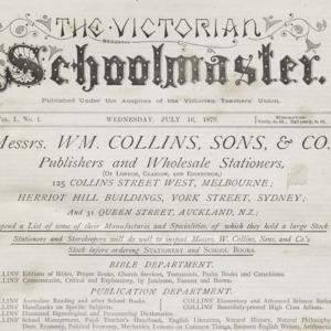 The Victorian schoolmaster