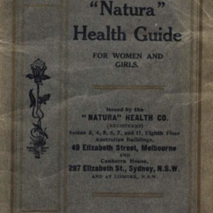 "The ""Natura"" health guide for women and girls"