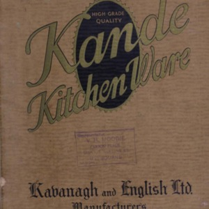 Kande kitchen ware