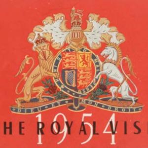The Royal Visit : 1954