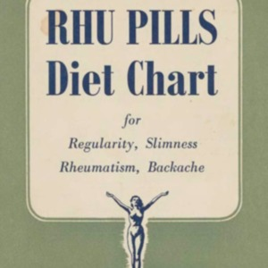Rhu Pills diet chart : for regularity, slimness, rheumatism, backache