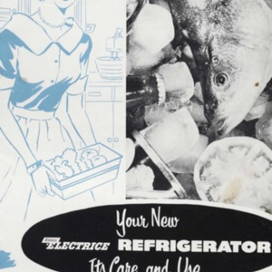 Your new Electrice refrigerator : its care and use