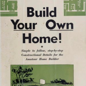 You can build your own home and save hundreds of pounds on the cost : a simple and practical solution of the housing problem