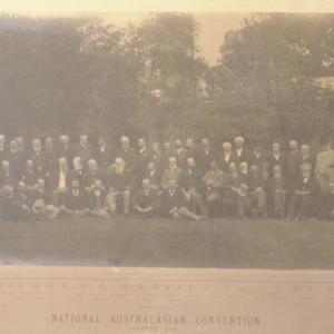 National Australasian Convention, Sydney 1891