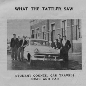 student council car 1954.jpg