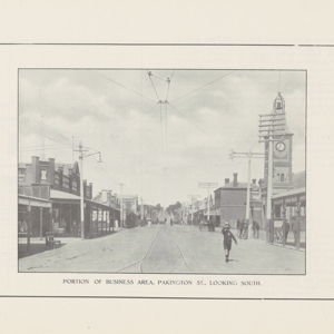 Proclamation of Geelong West as a town by His Excellency Colonel the Right Honorable the Earl of Stradbroke, K.C.M.G., C.B., C.V.O., C.B.E., Governor of Victoria, on the 22nd day of March, 1922