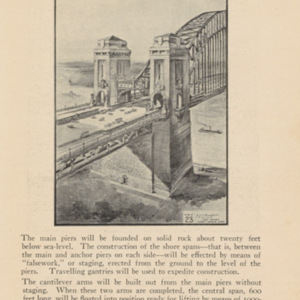 The Sydney Harbour Bridge and City Railway