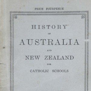 History of Australia and New Zealand for Catholic schools