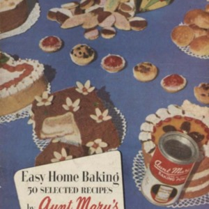 Easy home baking : 50 selected recipes