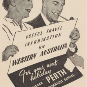 Useful travel information on Western Australia