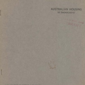 Australian housing (4 broadcasts)