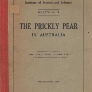 The prickly pear in Australia