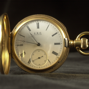 Full hunter pocket watch : Alfred Deakins pocket watch