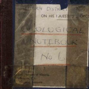 Notebooks / Edmund D. Gill