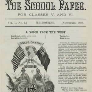 The School paper for classes V and VI