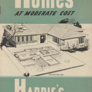 Modern homes at moderate cost : Hardie's Fibrolite asbestos-cement sheets