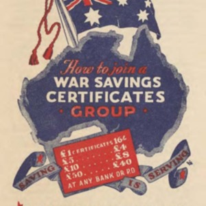 How to join a war savings certificates group : saving is serving