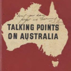 Talking points on Australia