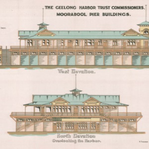 Geelong Harbor Trust Commissioners: Moorabool Pier buildings