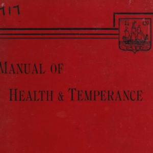 Manual of health and temperance, 1893