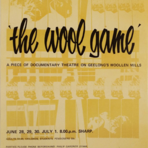 The wool game