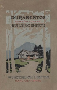 Durabestos asbestos-cement building sheets