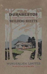 Durabestos asbestos-cement building sheets