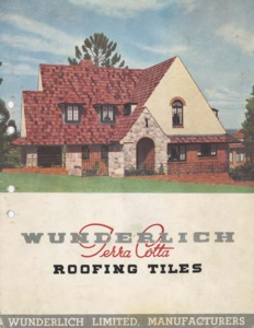 Wunderlich terra cotta roofing tiles