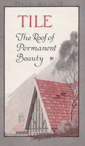 Tile : the roof of permanent beauty