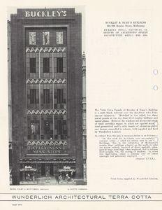 Wunderlich architectural terra cotta : prize-winning facades