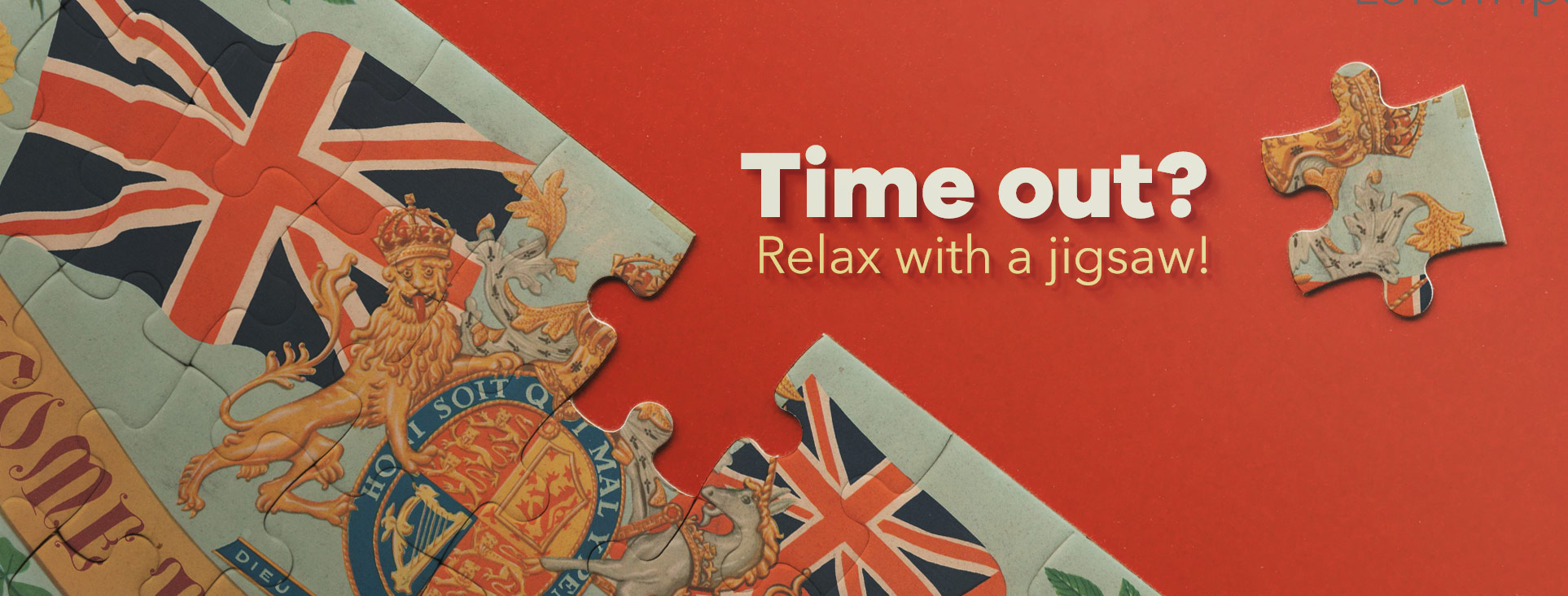 Time out? Relax with a jigsaw